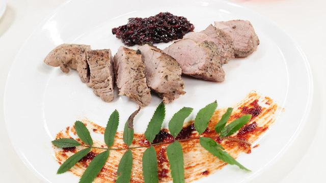 Konfitura z jarzębiny jako dodatek do mięsa
